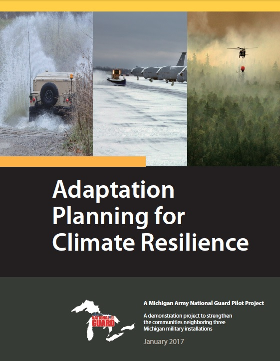 Cover of Adaptation Planning for Climate Resilience Report