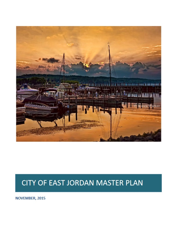 Cover of the East Jordan Master Plan