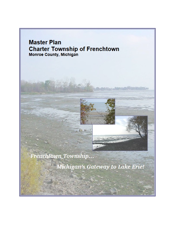 Cover of the Master Plan for the Charter Township of Frenchtown