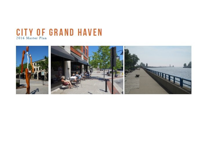 Cover of City of Grand Haven Master Plan