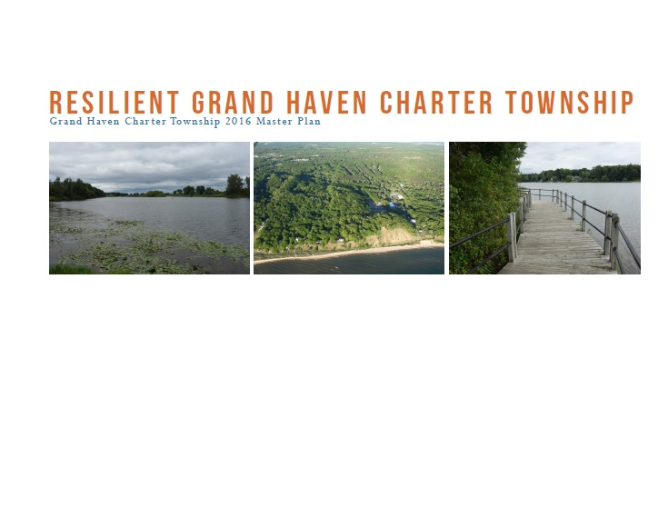 Cover of the Grand Haven Charter Township Master Plan