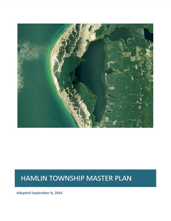 Cover of the Hamlin Township Master Plan