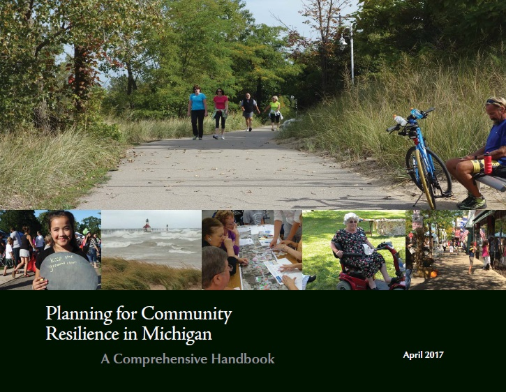 Cover of Planning for Resilience in Michigan Handbook