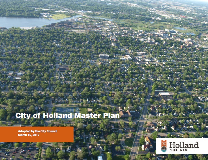 Cover of City of Holland Master Plan