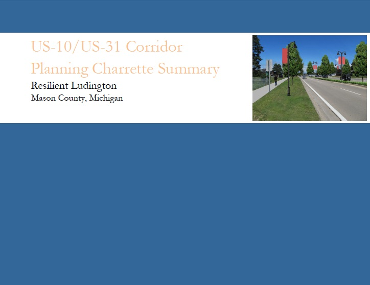 US-10 Corridor Planning Charrette Report Cover