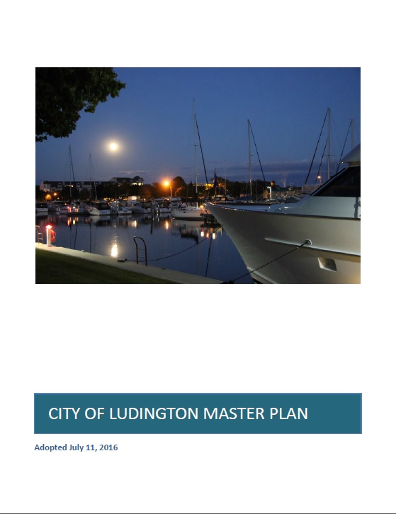 Cover of City of Ludington Master Plan