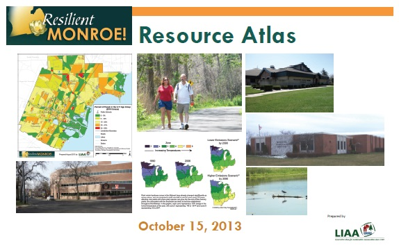 Cover of the Resilient Monroe Resource Atlas