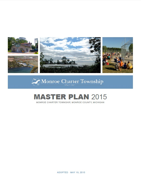 Cover for Monroe Charter Township Master Plan