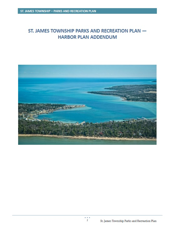 St. James Harbor Plan Cover