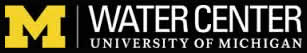 Water Center University of Michigan Logo